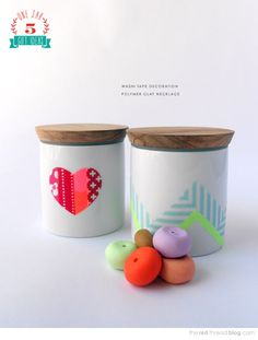 Five great DIY gift ideas for under $15 - Ikea Celeber jar | The Red Thread