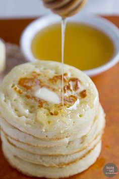 Bring a little bit of England into the kitchen with this Crumpet Recipe - a few simple ingredients are all it takes for this delicious English snack.
