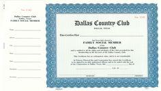 Corporate Publishing Custom Membership Certificate - Goes #4520 https://www.corporatepublishingcompany.com/product/goes-4520-certificates