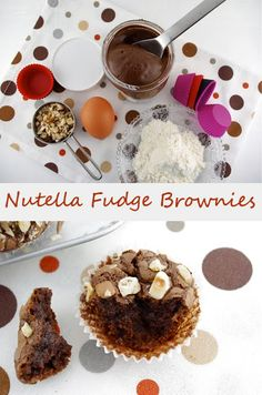 Nutella Fudge Brownies  @StyleSpaceandStuff.Blogspot.com @AbdulAziz Bukhamseen Home Sweet Home Blog Taylor  make it snappy :P ahahahh
