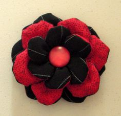 fabric flower #fabric #flower