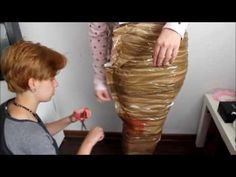 DIY Silicone Mermaid Tail Tutorial #3 - Dummy For The Tail - YouTube