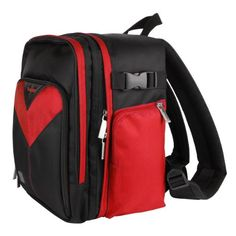 Introducing Samsung WB1100F Red Sparta Collection SLR Camera Backpack. Great product and follow us for more updates!