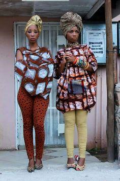my home girls!representing Botswana!