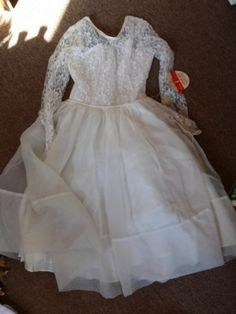 Vintage Little Vogue 1877 First Communion Dress And Veil