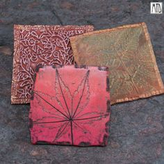 Clay Tiles Art Project | clay tiles i love having a stash of tiny to large polymer clay tiles ...