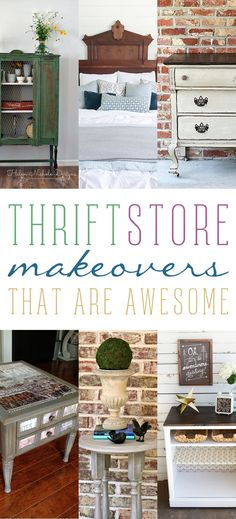 1080 Best Thrift Store Makeovers Images In 2019 Recycled Furniture