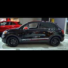2016 Fiat 500X Mopar Customized. Read all about the new Fiat 500X crossover: http://www.fiat500usa.com/search/label/Fiat%20500X?m=1 #fiat500x #fiat500usaforum #fiat #fiatusa #fiat500 #fiat500usa_com...