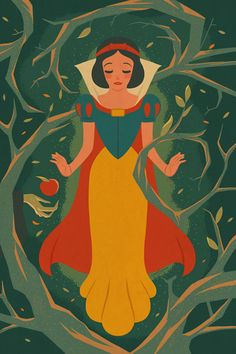 Vintage Style Disney Illustrations by Dave Quiggle is part of Disney illustration Great series of Disney characters illustrated by Californiabased artist Dave Quiggle for the WonderGround Gallery in - Disney Pixar, Anime Disney, Art Disney, Disney Princess Art, Walt Disney World, Disney And Dreamworks, Disney Magic, Disney Characters, Disney Princesses