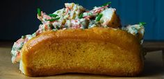 Lobster Roll Seafood Mayo Butter Chives Lemongrass Tasting Table Test Kitchen