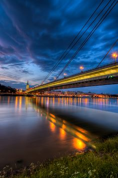 Bridge of the Slovak National Uprising - Bratislava, Slovakia