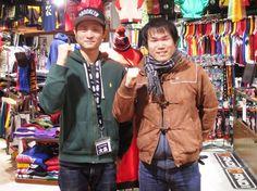 【大阪店】2014.12.14 2年ぶりにセレクションに遊びに来て下さいました!!ありがとうございます!17年のNBA観戦歴は凄いです!!色々教えて下さりありがとうございました^^また遊びに来て下さいました!!