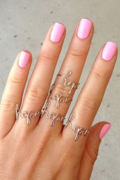 Delicate Hope Ring