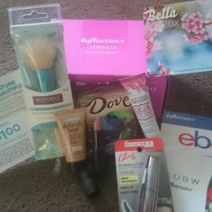 #BellaVoxBox #Influenster love all these goodies. (i recieved these free for testing purposes)
