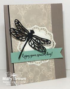 sathopfly - SU Dragonfly Dreams - Detailed Dragonfly Thinlits