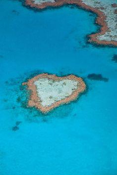 Heart Reef - Great Barrier Reef - Australia