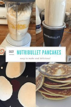 Make pancakes the easy way with these delicious nutribullet pancakes. The perfect weekend breakfast, quick and easy with much less washing up!