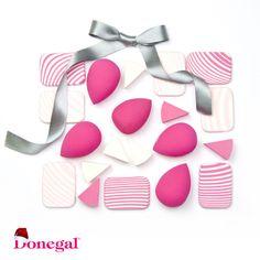 Piękna i gładka skóra teraz w zasięgu ręki, dzięki różowym gąbeczką do makijażu Donegal. www.donegal.com.pl