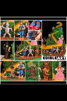Wizard of Oz cake! #cake #wizardofoz