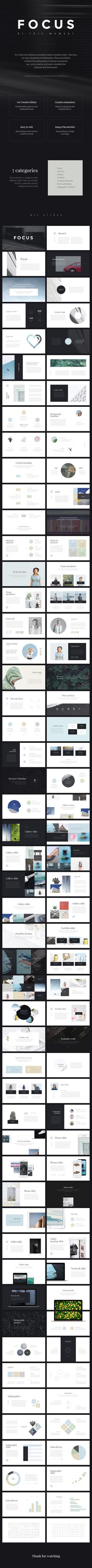 Focus PowerPoint Presentation A free presentation template
