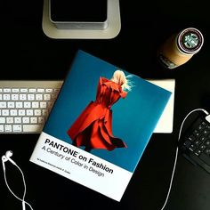 Creative Director and photographer Jeff Roach is diving into his new copy of #Pantone on Fashion. Photo via @SilverStarMe