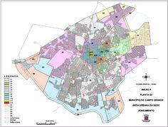 Mapas - A Cidade - Campo Grande Net