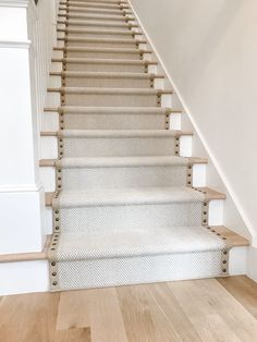 We frequently get asked what my most loved project is to date. We have done a lot of DIY and home improvements over the years. I love the carpet decor in this DIY project Carpet Staircase, Staircase Runner, Staircase Remodel, Stair Rug Runner, Carpet Stair Treads, Hallway Carpet, Home Design, Home Stairs Design, Stair Design
