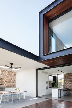 Preston House Is a Light-Filled, Indoor/Outdoor Residence in Sydney, Australia - Design Milk Residential Architecture, Contemporary Architecture, Interior Architecture, Contemporary Houses, Preston, Recycled Brick, Indoor Outdoor Living, Patio, Decoration