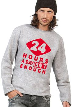 COOLER 24 HOURS A DAY ISN T ENOUGH SWEATSHIRT/PULLOVER + COOLEM BEANIE IN BLACK!