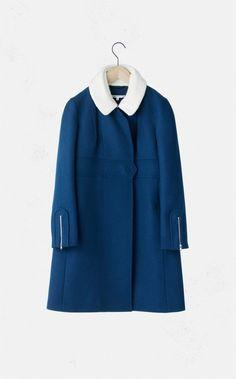 Carven : Cashmere-Blend Coat
