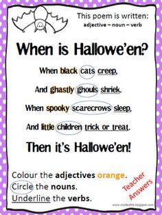 adjectives of halloween
