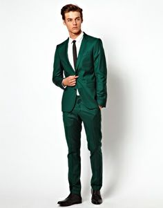 The Green Suit - The Most Flexible Suit Color | How to wear, Suits ...