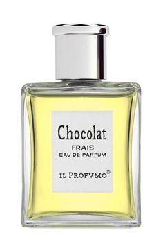 Chocolat Frais Eau de Parfum by IL PROFUMO. De la fève de chocolat produite loin de Paris aux effluves gourmandes d'une fragance au chocolat peu connue, parfaitement équilibrée pour offrir apaisement et réconfort mais aussi séduction