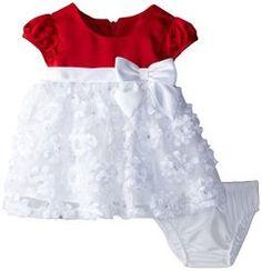 Baby Girls Newborn White Bonaz Dress