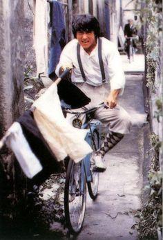 Jackie Chan! Bike-fu!