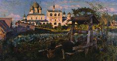 Мешков В.Н. (1867-1946) Вечерний звон