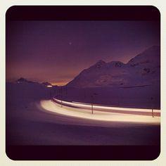 """@suesskindsgd's photo: """"#bahn#bernina#ospizio#graubünden#graubuenden#rhätische#bahn#reisen#rhb#switzerland#schnee#suesskind#"""""""