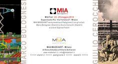 Made4Art, Spazio e servizi per l'arte e la cultura, partecipa alla quarta edizione di #MIA, Milan Image Art Fair, che si svolgerà dal 23 al 25 maggio presso SuperStudio Più. La Galleria sarà presente al Padiglione 2 con gli artisti #MarcoBolognesi (Stand 2) e #GiulioCerocchi (Stand 5).