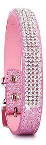 Pet's House Dog Collars for Large Dogs Female Personalized Dog Collars for Large Dogs Female Leather Pitbull Pink Spiked Girl Bling Sparkle Training Thick Shock (Large, Pink)   Check it out-->  http://mypets.us/product/pets-house-dog-collars-for-large-dogs-female-personalized-dog-collars-for-large-dogs-female-leather-pitbull-pink-spiked-girl-bling-sparkle-training-thick-shock-large-pink/  #pet #food #bed #supplies