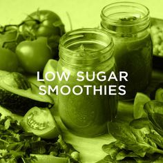 Low Sugar Smoothies, Green Smoothies, Healthy Smoothies, Smoothie Recipes, Plant Based Diet, Bowls, Healthy Recipes, Serving Bowls, Plant Based Meals