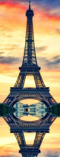 Eiffel Tower, Paris France #travel #photography