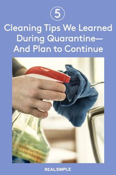 5 Cleaning Tips We Learned During Quarantine—And Plan to Continue | These are the cleaning tips and hacks we've picked up over while in quarantine, there are a few we plan to continue. From the importance of washing your reusable grocery bags to the right way to disinfect, here are some cleaning tricks worth remembering. #organizationtips #realsimple #howtoclean #cleaningtips #cleaninghacks Beatles Songs, Reusable Grocery Bags, Laundry Hacks, Domestic Goddess, Tidy Up, Real Simple, Cleaning Hacks, Good Things, Organization