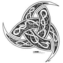 Celtic and Germanic Wiccan symbols - of Odin is a stylized emblem of the Norse God Odin-Woden. This symbol . Goddess Symbols, Wiccan Symbols, Celtic Symbols, Celtic Art, Mayan Symbols, Egyptian Symbols, Ancient Symbols, German Symbols, Celtic Dragon