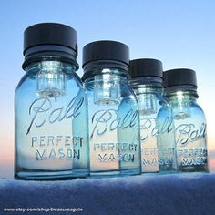 Mason Jars Solar Lights