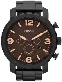 JR1356 - Authorized Fossil watch dealer - MENS Fossil NATE, Fossil watch, Fossil watches