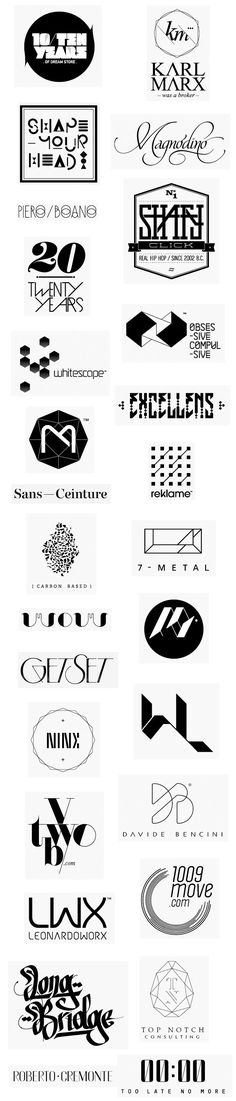 Various Logos by Federico Landini