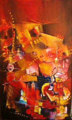 """""""Takya"""" - Monica Renedo - Oleo sobre tela  www.esencialismo.com"""