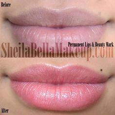 permanent cosmetics lips | Lips : Sheila Bella Permanent Makeup