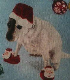 Dog Christmas Gift / Jack Russell Fabric Lavender Bag / Dog Gift - Handmade