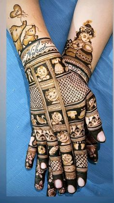 Latest Henna Designs, New Bridal Mehndi Designs, Best Mehndi Designs, Dulhan Mehndi Designs, Henna Tattoo Designs, Henna Mehndi, Mehendi, Designer Bridal Lehenga, Bridal Lehenga Choli